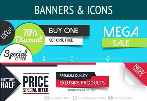 Banners & Icons