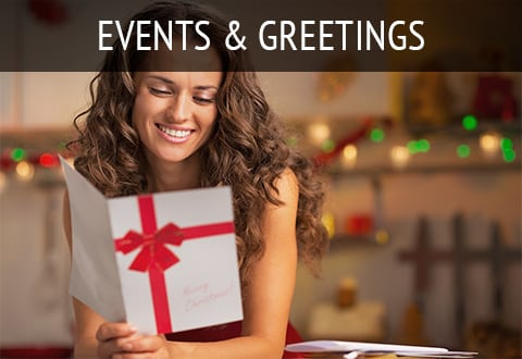 Events & Greetings