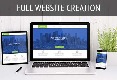 Full Website Creation