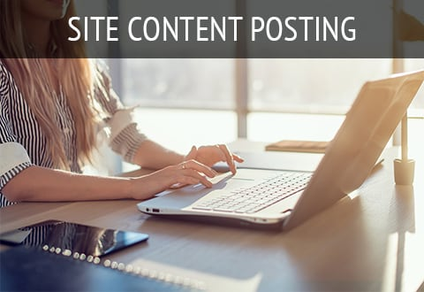 Site Content Posting