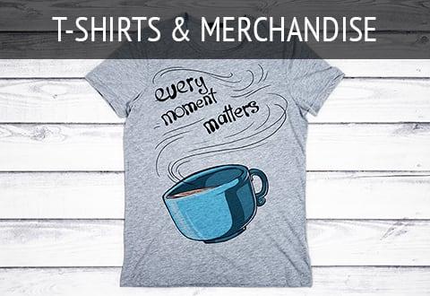 T-Shirts & Merchandise