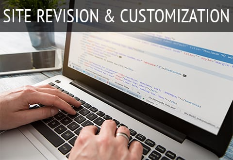 Website Revision & Customization
