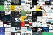 250 PSD templates site 4 - kwork.com