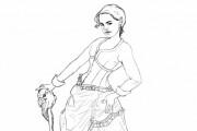 I will draw simple line art illustration 3 - kwork.com