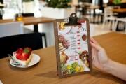 I will design a professional food flyer, poster 8 - kwork.com