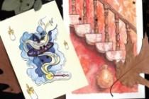 Creating illustrations for postcards 7 - kwork.com