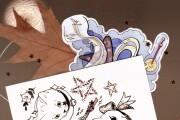 Creating illustrations for postcards 10 - kwork.com