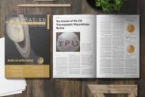 Design magazine page, layout 4 - kwork.com
