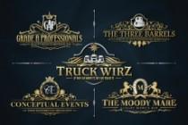 I Will Design Heraldic Luxury Logo 5 - kwork.com
