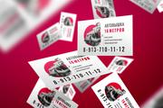 Business card design 8 - kwork.com