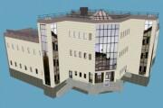 3D modeling of low poly buildings 5 - kwork.com