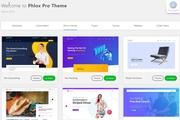 Phlox PRO Wordpress theme, Elementor, premium plugins, child, templates 12 - kwork.com