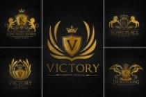 I will design 3 luxury heraldic logotype concepts 5 - kwork.com