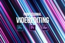 Professional video editing 4 - kwork.com