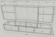 Design project for furniture 11 - kwork.com