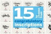 I'll send 15 inscriptions. Large selection of ready-made inscriptions 9 - kwork.com