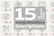 I'll send 15 inscriptions. Large selection of ready-made inscriptions 13 - kwork.com
