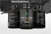 I will design amazing product label 4 - kwork.com