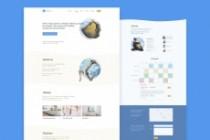 UI UX. Web-design, Landing page 6 - kwork.com