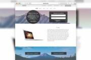 Landing page design. 1 screen 10 - kwork.com
