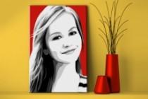 Pop art portrait 5 - kwork.com