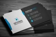 I'll make a business card design 9 - kwork.com