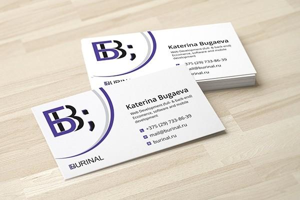 Business cards design 3 - kwork.com