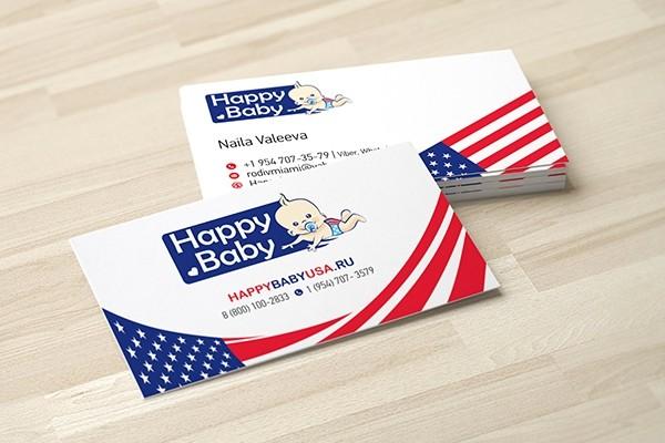 Business cards design 4 - kwork.com