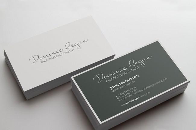 Develop design business cards 3 - kwork.com