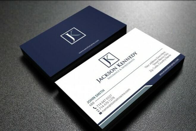 Develop design business cards 1 - kwork.com