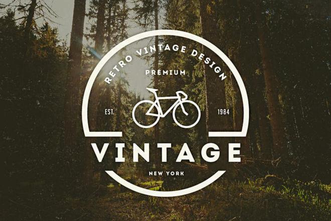 I Will Amazing Vintage Logo Design 1 - kwork.com