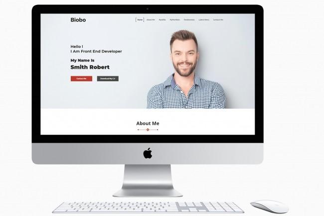 Business site HTML 1 - kwork.com
