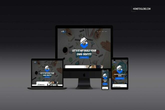 I'll build responsive web site for you 1 - kwork.com