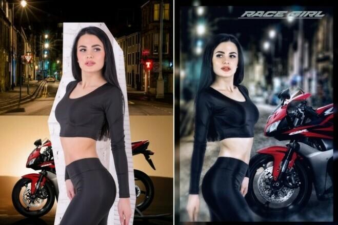 Professional photo editing in Photoshop, Capture One 2 - kwork.com