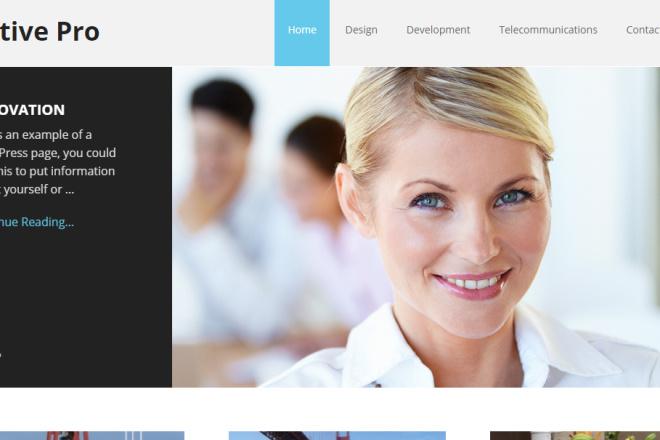 I Will Create Attractive Looking Blog Site On WordPress 1 - kwork.com