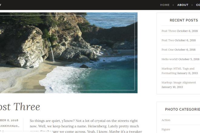 I Will Create Attractive Looking Blog Site On WordPress 3 - kwork.com