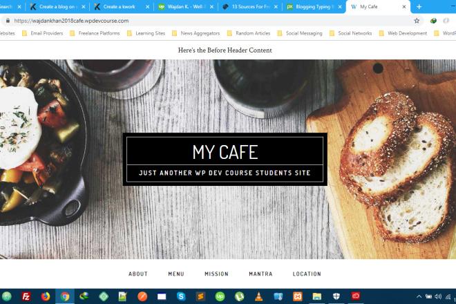 I Will Create Attractive Looking Blog Site On WordPress 4 - kwork.com