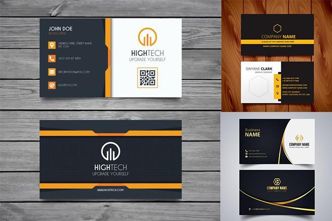 I Will Design Minimalist Business Card 4 - kwork.com