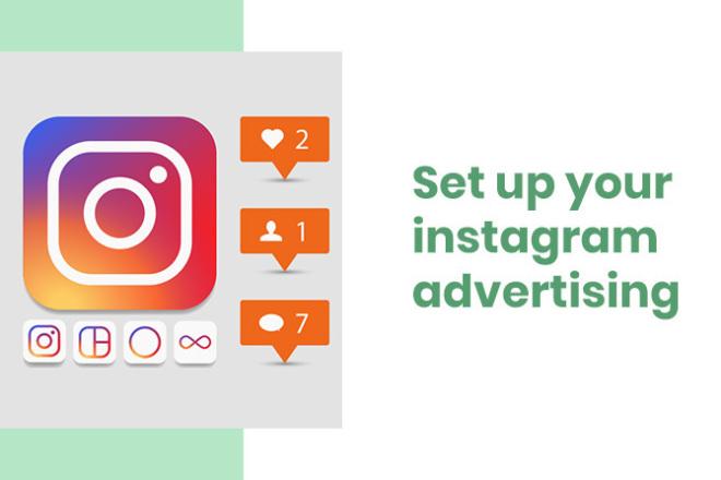 Set up your instagram advertising 1 - kwork.com