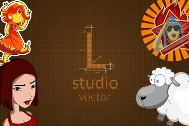 Create vector logo 3 - kwork.com