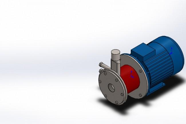 Creating a 3D model in SolidWorks 1 - kwork.com
