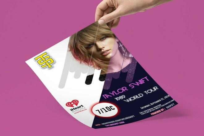 I will design poster and handbill 1 - kwork.com