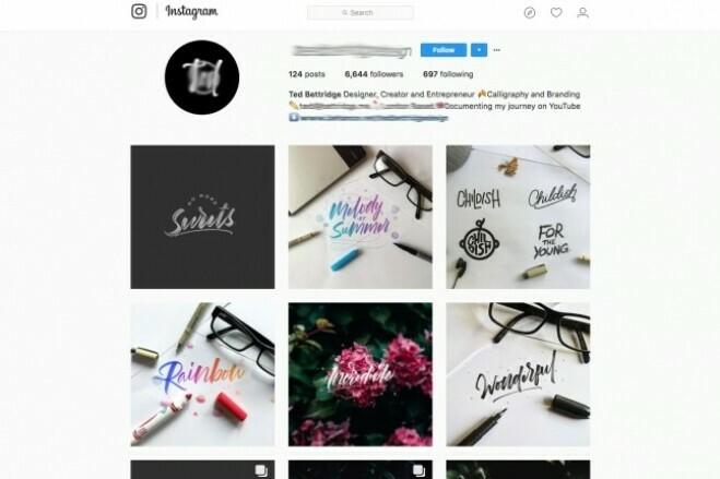 Instagram profile design for 5 days 1 - kwork.com