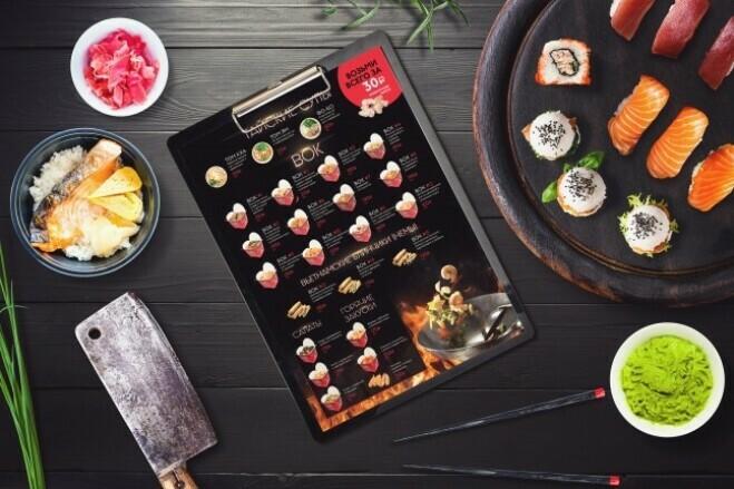 I will design a professional food flyer, poster 7 - kwork.com