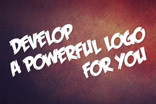 Develop a powerful logo for you 4 - kwork.com