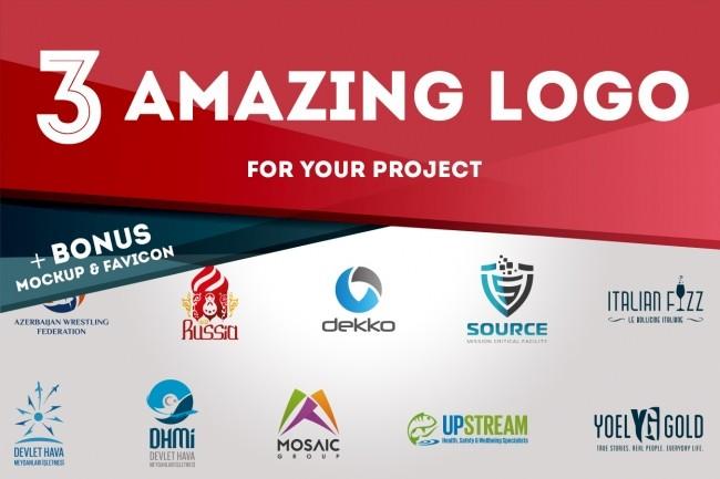 3 stunning logo designs 4 - kwork.com