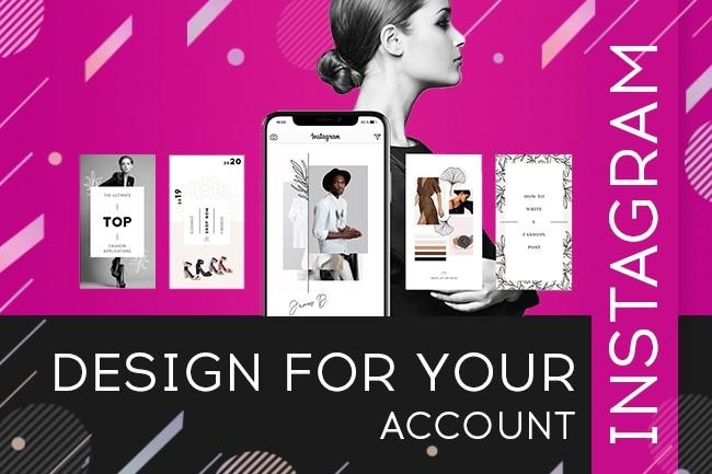 Design for instagram 4 - kwork.com