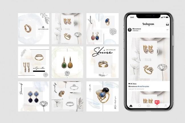 Design for instagram 1 - kwork.com