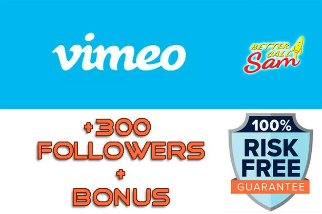 Get +300 Vimeo Followers. Buy Real Vimeo Followers 1 - kwork.com