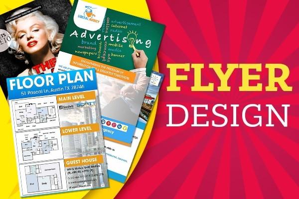 I will design creative flyer 10 - kwork.com
